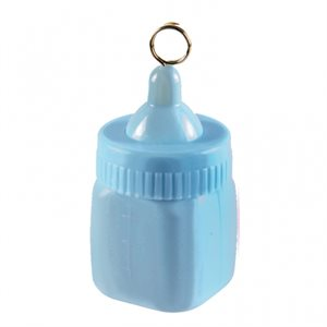 Blln weight baby bottle blue