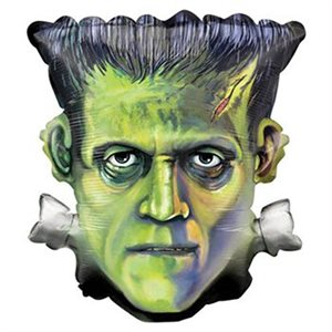 """FRANKENSTEIN HEAD 25"""" SHAPE FLAT"""