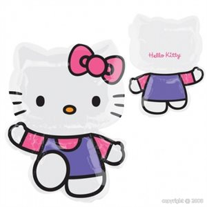 HELLO KITTY PINK & PURPLE SHAPE