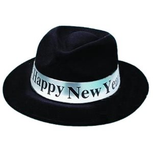 CHAPEAU NOIR HAPPY NEW YEAR