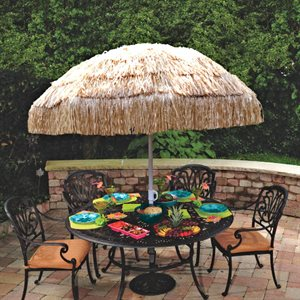 "TIKI UMBRELLA 71"" X 61"""