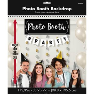 BACKDROP PRTY PHTO BOOTH