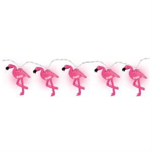 LED STRING LIGHTS - FLAMINGO