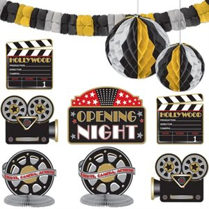 HOLLYWOOD DECORATING KIT 10 PIECES