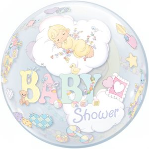 PRECIOUS MOMENT BABYSHOWER 22'' BUBBLES