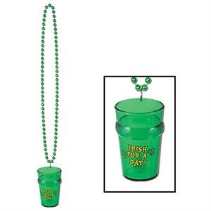 Collier St-Patrick 33 po. avec Shooter 2.5 oz.