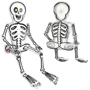SITTING SKELETON CONSUMER INFLATE
