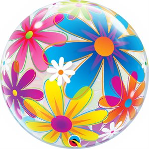 FANCIFUL FLOWERS 22'' BUBBLE