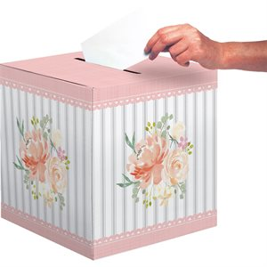 FARMHOUSE FLORAL - CARD BOX