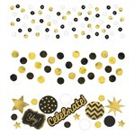 CONFETTIS 1.2 OZ - CELEBRATE OR ET NOIR