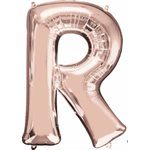MYLAR R ROSE GOLD 34 PO.