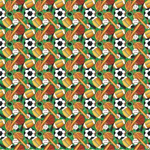 CLASSIC SPORTS GIFT WRAP 30'' X 5 FT