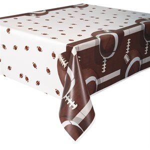 NAPPE FOOTBALL EN PLASTIQUE 54 X 84 PO.