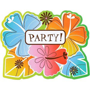 INVITATIONS HOT FUN IN THE SUMMER 50/PKG