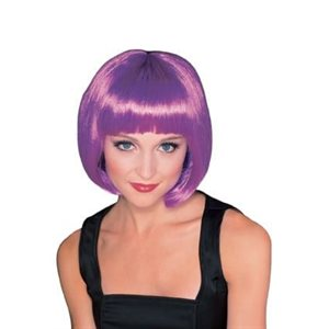 SUPER MODEL PURPLE WIG