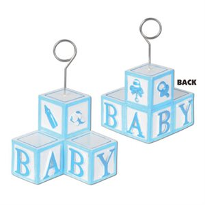 BABY BLOCKS BALLOON/PHOTO