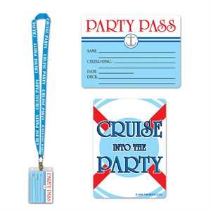 """CRUISE SHIP PARTY PASS 25"""""""