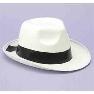 GANSTER HAT WHITE