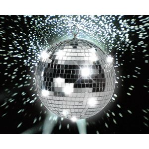 DISCO - BOULE MIRROIR 16 PO.