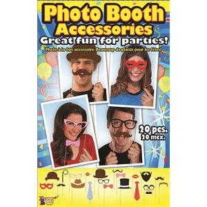 PHOTO BOOTH ACCESSOIRES 20/PQT