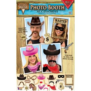 PHOTO BOOTH ACCESSOIRES FAR WEST