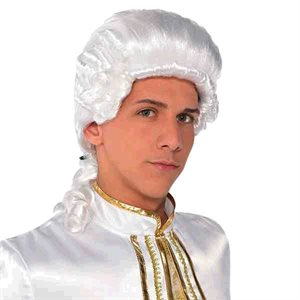 PERRUQUE HOMME COLONIAL