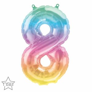 NUMBER #8 JELLI OMBRE 16''