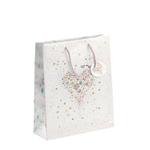 GIFT BAG MEDIUM TURNOWSKY WEDDING HEART