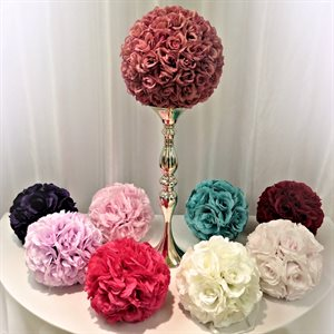 "9"" FLORAL BALL - RENTAL"