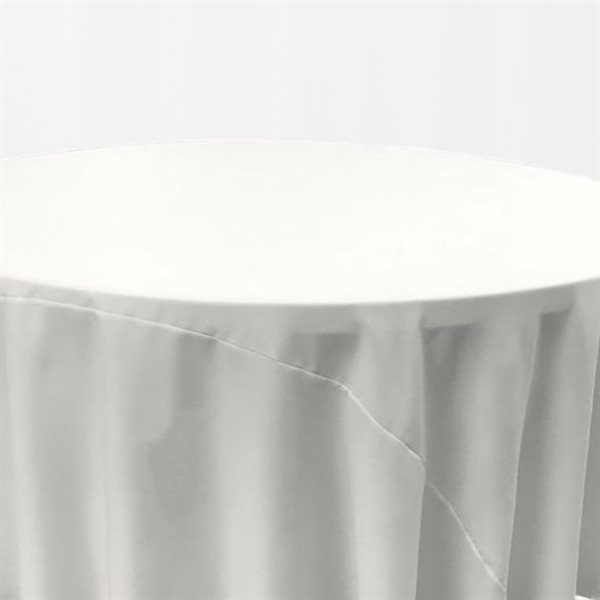 NAPPE RONDE EN POLYESTER 120 PO. - LOCATION