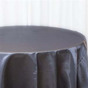 NAPPE RONDE EN SATIN 132 PO. - LOCATION