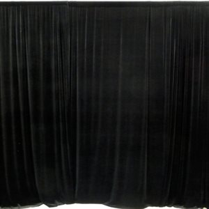 BACKDROP CURTAIN WITH SUPPORT SYSTEM - RENTAL