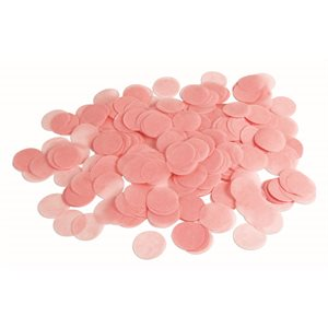0.8 OZ. PAPER CONFETTI - LIGHT PINK