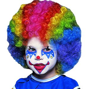 PERRUQUE DE CLOWN - ENFANT