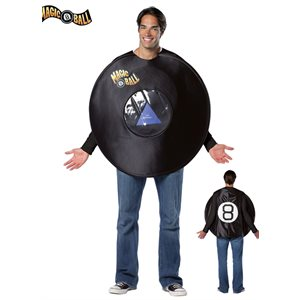 MAGIC 8 BALL COSTUME ADULT