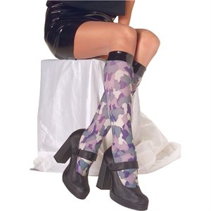 CAMOUFLAGE KNEE HIGHS