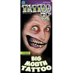 GROSSE BOUCHE -2 FACED -TATTOO