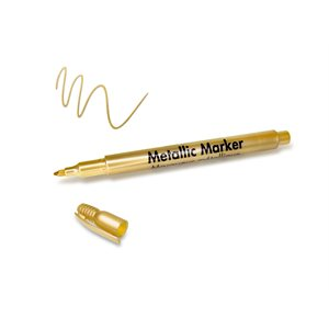 MARQUEUR MÉTALLIQUE 1.2 MM POINT FINE - OR